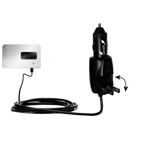 Intelligent Dual Purpose Dc Vehicle And Ac Home Wall Charger Suitable For The Walmart Internet On The Go - Two Critical Functions, One Unique Charger - Uses Gomadic Brand Tipexchange Technology