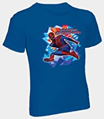 Fruit of the Loom Boys' 3pk Spider-Man Crew