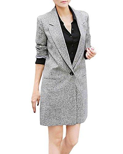ZANZEA-Femme-lgant-OL-Manteaux-Col-V-Manches-longues-Suit-Blazer-Pour-Poncho-Blouson-Costume-Vestes