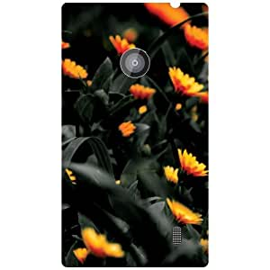 Nokia Lumia 520 Back Cover - Bunch Of Flowers Designer Cases