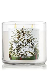 Bath & Body Works Slatkin & Co. 14.5 Oz. 3-wick Candle Fresh Balsam at Sears.com