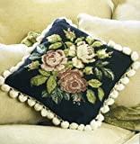 Rose Spray Tapestry Kit - Dark Background - Tapestry Kit
