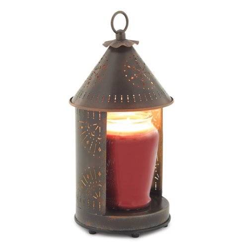 Candle Warmers Etc. Tin Punched Candle Warmer Lantern- Primitive Tin Sunshine Candle Warmers Etc. B005OKX4CW