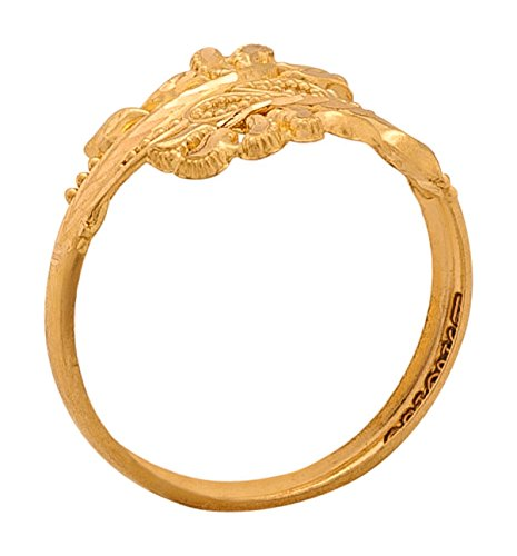 Buy Senco Gold Aura Collection 22k Yellow Gold Ring on Amazon Sale