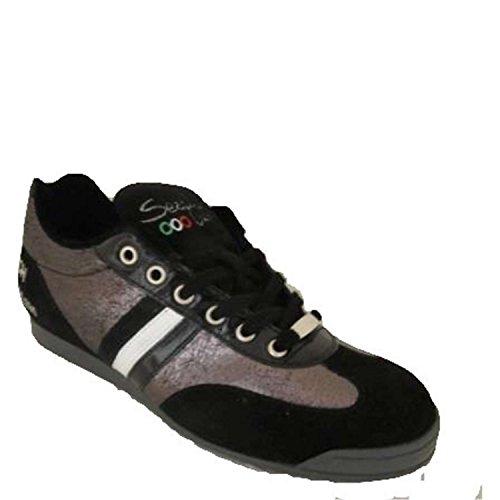 Serafini Sport 755 Sneakers Donna Pelle/camoscio Nero Nero 41
