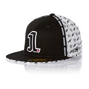 Alpinestars El Uno Flexfit Hat , Gender: Mens/Unisex, Distinct Name: El Uno White, Primary Color: White, Size: Sm-Md 1RSI81092020SM