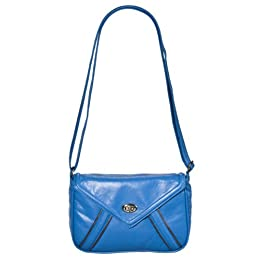 Women&#039;s Xhilaration Flap with Turn Lock - Blue : Target from target.com