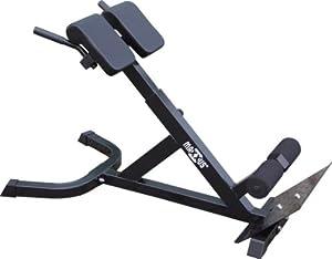 MAXXUS Hyperextension Rückentrainer für ein gesundes Rückentraining