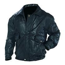Napoline, Roman Rock, Design Genuine Leather Jacket, Black 5X