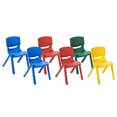 ECR4Kids School Stack Resin Chair (6-Pack), 10