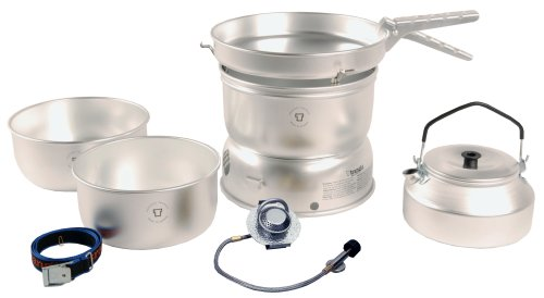 Trangia 25 Cookset With Gas Burner  &  Kettle