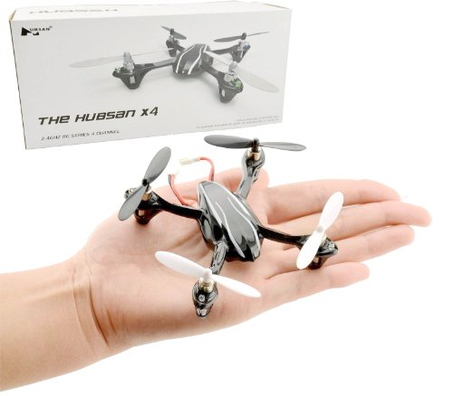 Hubsan X4 H107L Quadcopter Improved Version W/ Led Lights Rtf Mini Quad With Transmitter Receiver, Without Transmitter Battery (As Shown)