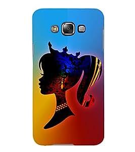 Modren Girl Fashion 3D Hard Polycarbonate Designer Back Case Cover for Samsung Galaxy E5 :: Samsung Galaxy E5 E500F (2015)