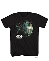 Star Wars Rogue One Dripping Death Star T-Shirt Small