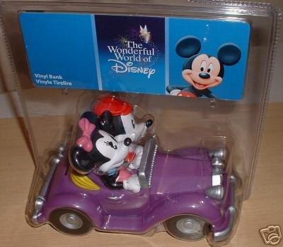 Disney Mickie and Minnie Vinyl Bank by Enesco - 1