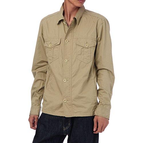 (ボイコット)BOYCOTT ジャケット風コットンシャツ ベージュ系(052) 04(LL)