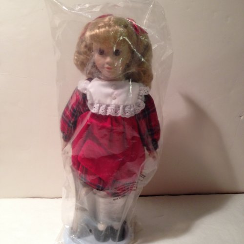 "Avon Fine Collectibles - Tender Memories Series - ""First Day of School"" Doll"