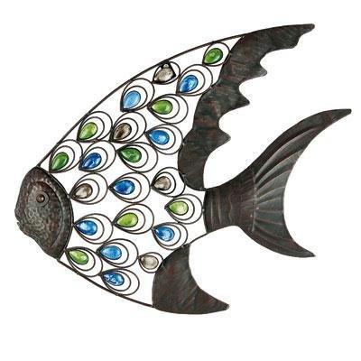 metal fish wall decorations
