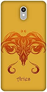 The Racoon Lean printed designer hard back mobile phone case cover for Lenovo Vibe X3. (Aries)