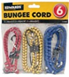 Assorted Elastic Bungee Cord Set - 6...