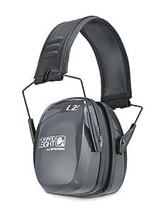 Howard Leight by Honeywell R-01525 Leightning L2F Folding Earmuff, Black/Gray