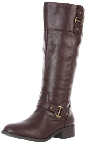 Rampage Women's Iben Riding Boot,Brown,8 M US