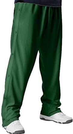 Buy Alleson Youth Basketball Breakaway Warm-Up Pants DG - DARK GREEN YM by Alleson Athletic