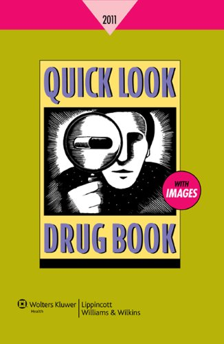 Quick Look Drug Book 2011