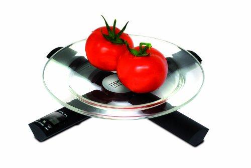 CASO Küchenwaage noir, acier affiné 2 x 1,5 V 3270