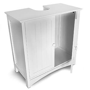 Meuble salle de bain meuble sous lavabo blanc at inuban - Meuble salle de bain sous lavabo ...