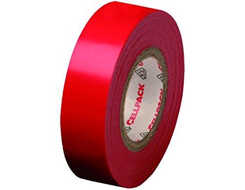 cellpack-no-128-dimensions-10m-x-15mm-x-015mm-longueur-x-largeur-x-epaisseur-rouge-ruban-disolation-