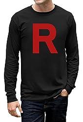 TeeStars Men's - Rocket Inspired Long Sleeve T-Shirt