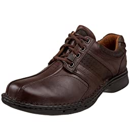 Clarks Unstructured Men\'s Un.Coil Casual Oxford,Brown,10.5 M US