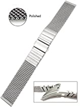Vollmer Polished Finish Mesh Bracelet 0503SH4 (20mm)