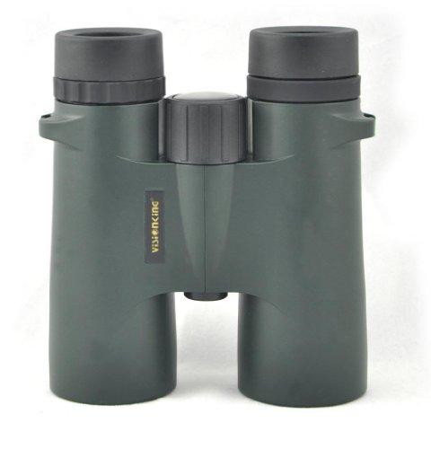 Visionking 8X42 Waterproof Nitrogen Filled Bak4 Roof Binoculars Telescope Color Green Color Green