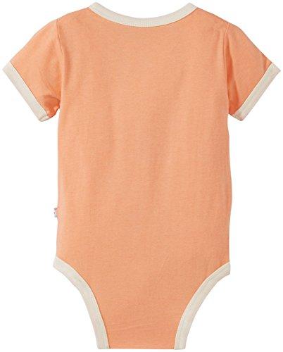 Babysoy Uni Baby Kimono Bodysuit Baby Cantaloupe