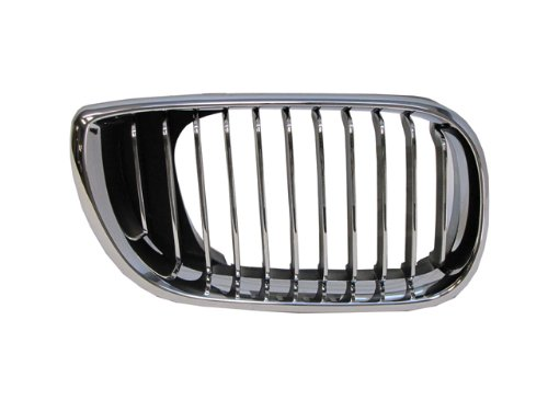 Bmw 3 Series 02-05 Right Front Grille Car Chrome (Front Grill Bmw 325i 2004 compare prices)