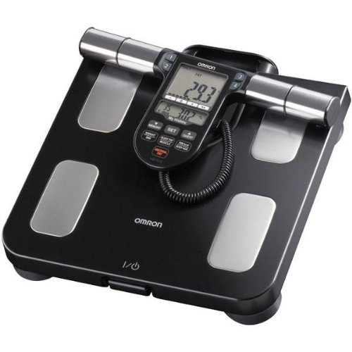 Cheap OMRON HBF-516B FULL-BODY SENSOR BODY COMPOSITION MONITOR & SCALE (BLACK) (HBF-516B) – (HBF-516B)