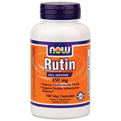 Now Foods Rutin 450 mg - 100 Veg Capsules