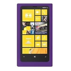 VMG Nokia Lumia 920 Silicone Skin Case Cover - PURPLE Premium 1-Pc