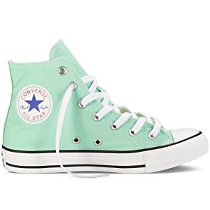 Converse Unisex Chuck Taylor® All Star® Seasonal Hi Peppermint Men's 4, Women's 6 Medium