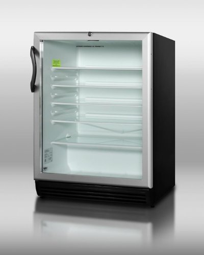 Glass Door Beverage Refrigerators front-27943