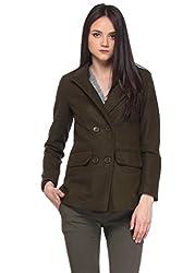 Brown Basic Overcoat