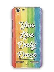 YuBingo You Live Only Once Designer Mobile Case Back Cover for Lenovo Vibe K5 Plus