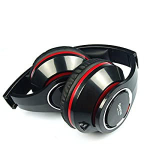 Beteran Senmai HD800 50mm Dynamic Fully Enclosed Adjust Headband Noise Cancelling Deep Bass Monitor Audio Mixing Record DJ Monitor Studio Recording Stereo Over Ear Music Headphone Headset for Mp3 Mp4 Music Player DVD Mobile Phone (Black)