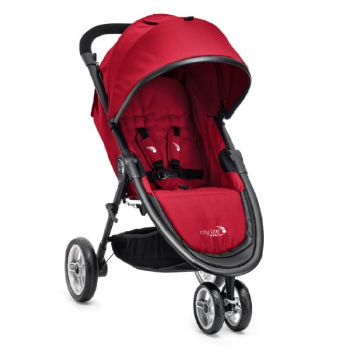 Baby Jogger City Lite Stroller, Red back-829280