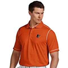 Baltimore Orioles Icon Polo (Team Color) by Antigua