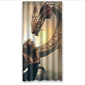 Cool dragon design sea dragons and fire for Bathroom art amazon