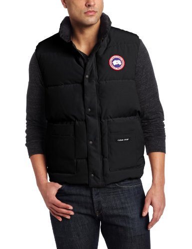 Canada Goose' men's freestyle vest black