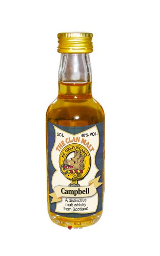 cambpell-clan-whisky-sammelobjekt-miniature-bottle